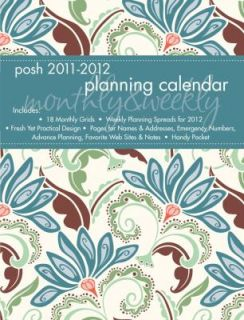 Weekly Planner by Andrews McMeel Publishing 2011, Calendar