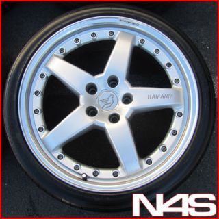 E60 525 528 530 535 545 550 M5 STAGGERED WHEELS RIMS TIRES (Fits BMW