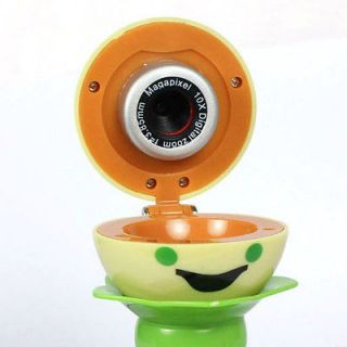 Mega Pixel Cute Pears Webcam Camera With Table Sucker for Laptop PC