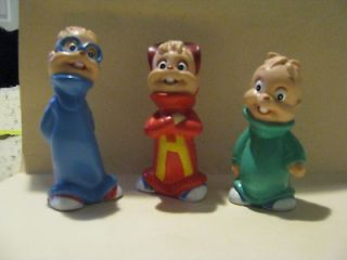 ALVIN AND THE CHIPMUNKS STANDING KFC FIGURES SIMON THEODORE ALVIN