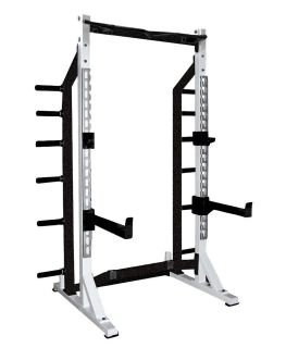 Half Rack Power Home Gym Squat Cage Smith Macine Weight Exercise