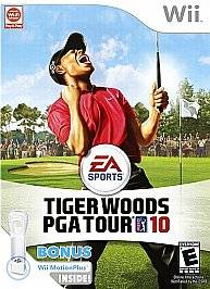 Tiger Woods PGA Tour 10 Game Wii MotionPlus Wii, 2009
