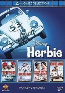 DISNEYS HERBIE THE LOVE BUG 4 Movie Collection 2012 DVD NEW