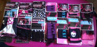 MONSTER HIGH COSTUME (NWT) Leg Warmers   Many Different Varieties