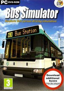 Bus simulaor WINDOWS XP NEW