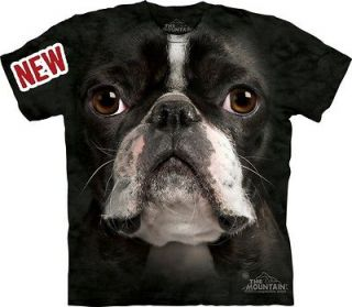 BOSTON TERRIER BIG FACE DOG tee shirt by Mountain size MEDIUM New