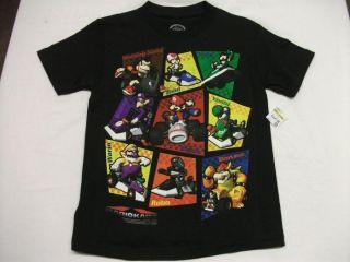 Super Mario Kart Top T Shirt 5 6 Medium Nintendo Cloes Game DS Wii