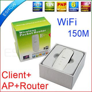 150Mbps Mini WiFi Wireless Network Card Client Router AP Iphone4 Phone