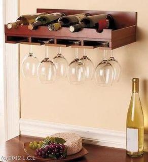 wood wine racks in Wine Racks & Bottle Holders