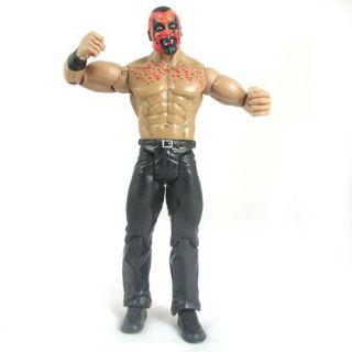 21E WWE JAKKS Classic Wrestling Boogeyman figure + belt