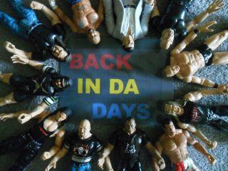 WWF WCW WWE WReSTLiNG Figures TRiPLe H aLBeRT RoCK MaTT HaRDY BiG SHoW