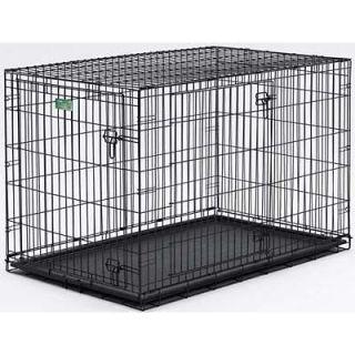 crate double Door S Dog cat pet folding wire Crate pen cage 22 x 13