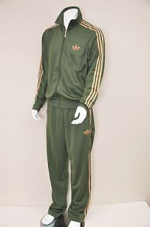 Adidas Originals Adi Firebird Strong Olive Green Tracksuit 2XL