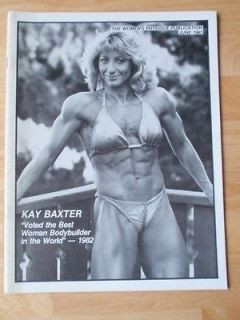 WOMENS PHYSIQUE PUBLICATION female bodybuilding muscle magazine/KAY