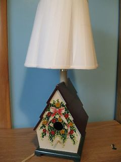 BIRD HOUSE   TABLE LAMP