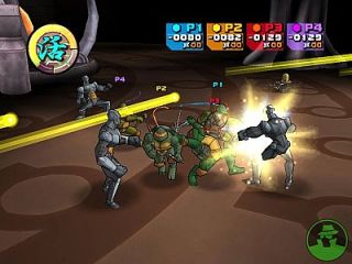 Teenage Mutant Ninja Turtles 2 Battle Nexus Xbox, 2004
