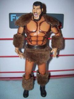 WWE Wrestling Jakks Classic Superstars Giant Gonzales Figure with Fur