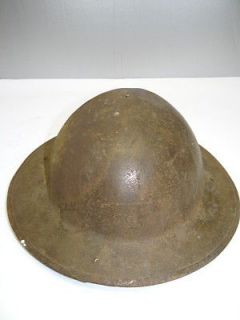 World War I WWI Metal US Army Military Soldier Doughboy GI Helmet