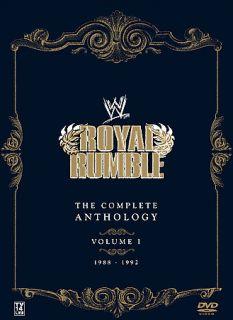 WWE   Royal Rumble Anthology Vol. 1 DVD, 2007, 5 Disc Set