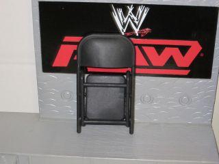 WWE BLACK CHAIR MATTEL WRESTLING FIGURE WEAPON ACCESSORY TLC WWF TNA