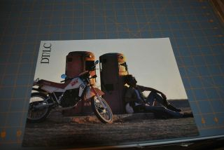 1980s yamaha DT/LC dirt bike Sales Brochure nice
