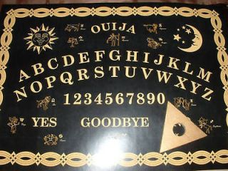 Ouija Board   With Mystical Zodiac Symbols + Gold Planchette   FAST