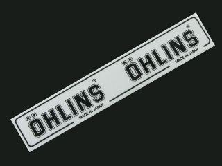 OHLINS racing YAMAHA HONDA SUZUKI KAWASAKI badge decal logo sticker
