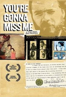 Youre Gonna Miss Me   A Film About Roky Erickson DVD, 2007