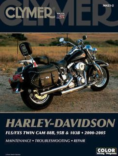 Repair Manual Harley Davidson FLSTFI Fat Boy 15Th Anniversary 2005