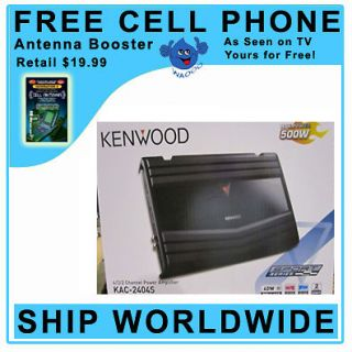 kenwood amplifier 4 channel in Consumer Electronics