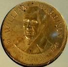 William Harrison Franklin MINT Commemorative Bronze Medal   Token