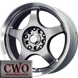 16 Silver MB Five X Wheels Rims 5x110/5x115 5 Lug Malibu Aura CTS DTS