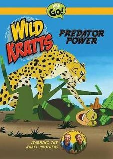 WILD KRATTS: PREDATOR POWER [REGION 1]   NEW DVD
