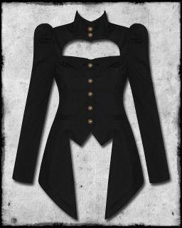 SPIN DOCTOR AMADEUS BLACK COPPER STEAMPUNK VICTORIAN GOTH LADIES