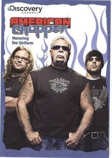The Discovery Channel   American Chopper Honoring The Uniform DVD, Men