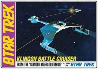 AMT 1/650 Star Trek Klingon Battle Cruiser Std Ed. AMT720