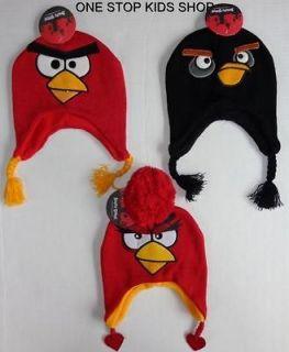 ANGRY BIRDS Girls Boys Laplander HAT Cap Beanie