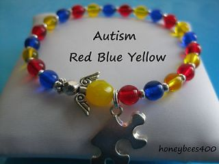 Autism Awareness Bracelet in Fashion Jewelry