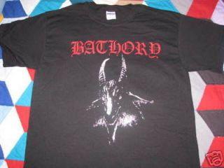 bathory goat t shirt black metal death immortal naglfar emperor viking
