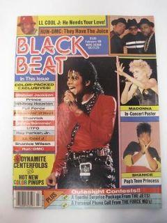Beat. Michael Jackson, Madonna In Concert Poster, Alexander ONeal