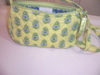 Bradley Citrus Green small young girls quilted Amy Purse Handbag EUC