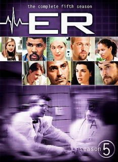 ER   The Complete Fifth Season DVD