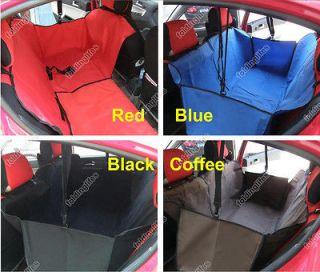 Car Auto Pet Dog Cat Waterproof Hammock Seat Cover Protector Blanket