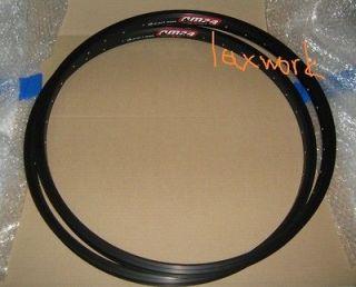 2x ALEX DM24 24 Disc Rims Bike DH Black 1 Pair NEW