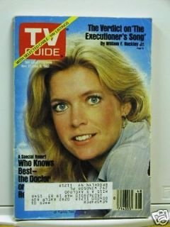 TV GUIDE 11 27 82 Meredith Baxter Birney Lee Horsley