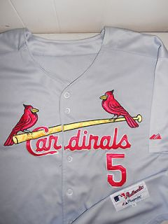 St Louis Cardinals Albert Pujols Baseball Jersey Sewn Authentic MLB