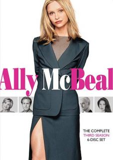 Ally McBeal The Complete Third Season DVD, 2010, 6 Disc Set
