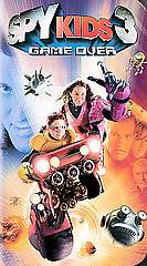 Spy Kids 3 Game Over VHS, 2004, 2 D Version