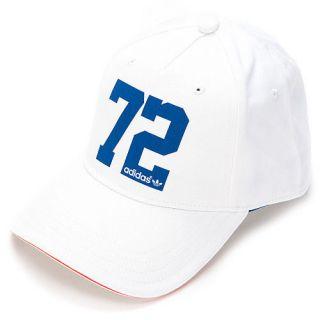 Brand New Adidas Originals WMN SPO Ball Cap / Hat White (X34259) in S