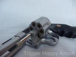 Magnum Revolver 6inch spring Airsoft Guns Pistols Handguns w/Shells